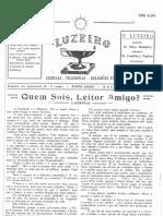 1. Luzeiro – Ano 1 – Nº 1 Junho 1952