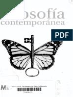 Filosofia Contemporanea Manuel Cruz