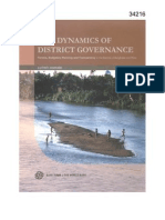 The Dynamics of District Governance