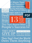 13 Things Mentally Strong People Dont Do by Amy Morin