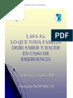 QUE HACER EN SITUACIONES DE EMERGENCIA