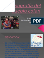 Etnografía Del Pueblo Cofan