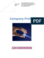 Company Profile Hitech Lighting World Corporation 2017
