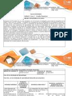 Guía de Actividades y Rúbrica de Evaluación Unidad 1 Fase 2 Estudio Financiero