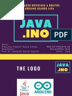 Java.ino - Plataforma de Programação para Arduino com Java