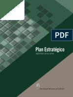 Planificaco universitaria 2014 2018