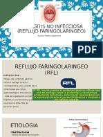 Faringitis No Infecciosas