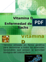Vitamina D y Tay-Sachs
