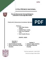 Practica 8 -Ecologia
