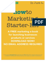 How to Marketing Starter Kit for Small Business