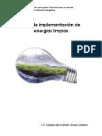 Reto de Implementación de Energías Limpias