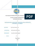 Aplicacion de La Psicologia Industrial en Duraznos en Almibar