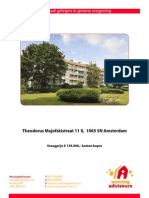 Brochure Theodorus Majofskistraat 11-II Te Amsterdam