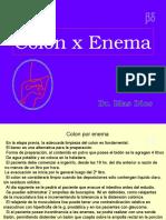 Colon x Enema