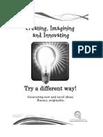 hom evidence creating imagining innovating