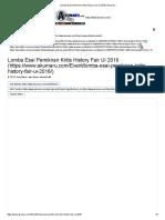 ESSAY 14 OKT _ Lomba Esai Pemikiran Kritis History Fair UI 2016 _ Akumaru
