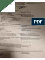 immunology exam1