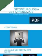 I - Bases Psiconeurología Del Aprendizaje