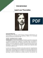 Trabajo de l.e. Thorndike