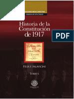 Historia de La Constitucion de 1917