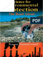 Science for Environmental Protection the Road Ahead