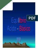 Equilibrio ácido-Base pdf