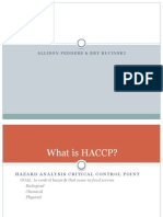 haccp nutrition ed