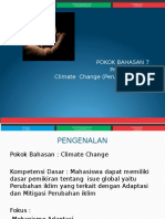 007 SED Perubahan Iklim