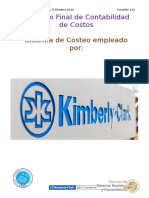 Sistema de Costeo Kimberly Clark
