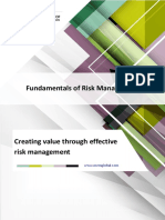 Fundamentals of Risk Management Brochure