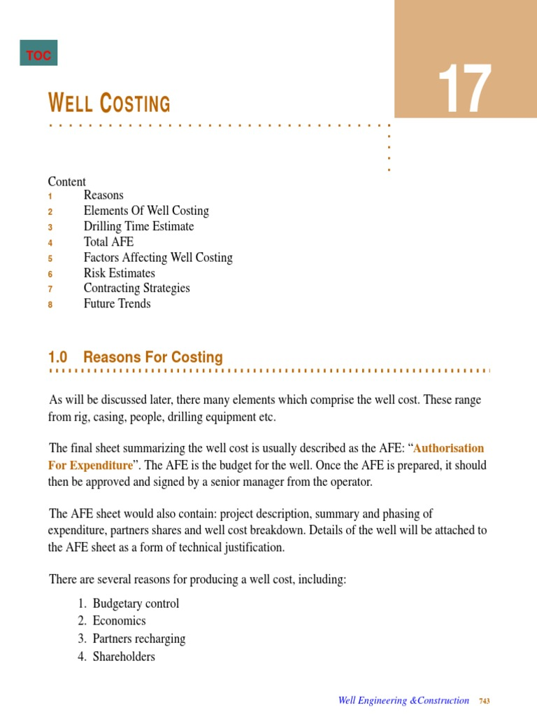 factors affecting costing