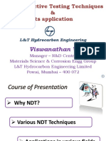 NDT & Its Applications