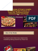 Pizza Hut Presentation