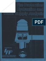 Fire Protection Hydraulic and Water Supply Analysis