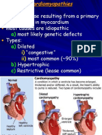 Cardiac Myopathies