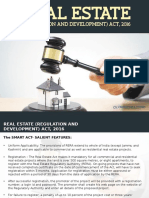More About Real Estate Regulation and Development Act, 2016