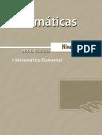 Matematicas Nivel 1