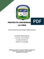 Proyecto de Universidad de La Vida