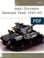 Osprey - New Vanguard 073 - M4 (76mm) Sherman Medium Tank 1943-65