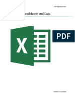 Excel Spreadsheets Manual v1