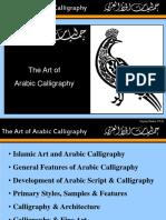 Arabic Calligraphy Presentation