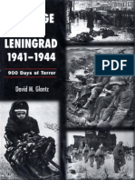The Siege of Leningrad 1941-1944-900 Days of Terror - Glantz, David M.