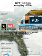 JACKSONVILLE DISTRICT CIVIL WORKS AREA OF RESPONSIBILITY