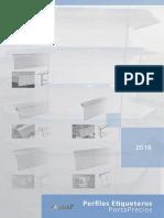 Catalogo Perfiles Etiqueteros Portaprecios 2016