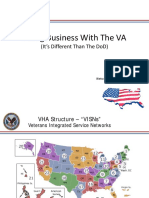 Keynote Steve Elliott, Doing Business With The VA (It's Different Than The DoD), VA SAME Brief Final