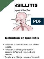 Tonsilitis (Medsurg)