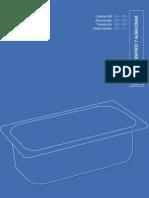 Transporte y almacenaje. Catálogo Profesional de Hostelería 09/10. Grupo CRISOL