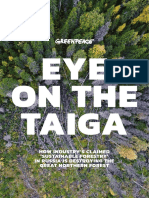 Eye on the Taiga Greenpeace Full Report