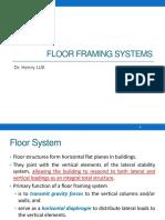 3. Floor Framing Systems