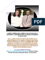 «Sobre El Dulce Panal de La Conciencia» (Ponencia de Pérez Alencart,1997)